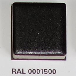 RAL 0001500, Плитка Vitra Arkitekt Color, Black, глазурованная, глянцевая / матовая