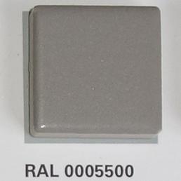 RAL 0005500, Плитка Vitra Arkitekt Color, Dark Grey, глазурованная, глянцевая / матовая