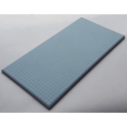 Плитка тактильная  для разворотно-толчковой зоны борта бассейна Vitra Arkitekt Pool,  RAL 230 70 15 поверхность матовая  водопоглащение 0.5% размер 12.5х25