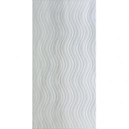 Плитка настенная Blast 30х60 Белый матовый декор (White matt)