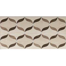 Плитка настенная Ethereal Декор Геометр. микс Глянец 30х60 ( Brown-Light Beige Geometric Mix Decor Glossy)