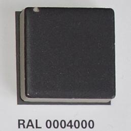 RAL 0004000, Плитка Vitra Arkitekt Color, Anthracite, глазурованная, глянцевая / матовая