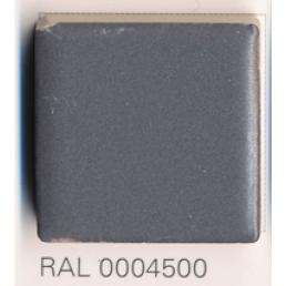RAL 0004500, Плитка Vitra Arkitekt Color, Dark Grey, глазурованная, глянцевая / матовая
