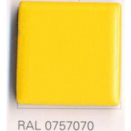 RAL 0757070, Плитка Vitra Arkitekt Color, Dark Yellow, глазурованная, глянцевая / матовая