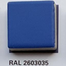 RAL 2603035, Плитка Vitra Arkitekt Color, Aqua Blue, глазурованная, глянцевая / матовая