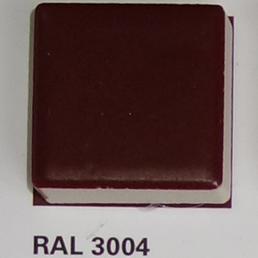 RAL 3004, Плитка Vitra Arkitekt Color, Burgundy, глазурованная, глянцевая / матовая