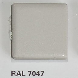 RAL 7047, Плитка Vitra Arkitekt Color, Light Grey, глазурованная, глянцевая / матовая