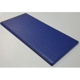 Плитка для бассейна противоскользящая  с завальцованным краем Vitra Arkitekt Pool  RAL 5002 синяя поверхность матовая шершавая  R10B водопоглощение 0.5% размер 12.5х25