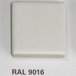 RAL 9016, Плитка Vitra Arkitekt Color, White, глазурованная, глянцевая / матовая