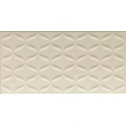 Плитка настенная Ethereal 3D Декор светло-бежевый 30х60 (Light Beige 3D Decor Glossy)